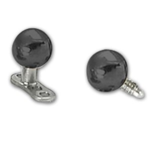 Replacement black ball MicroDermal