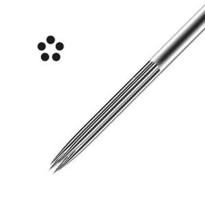 5 aghi - rotondi - colore (50 unità) - (0,35).