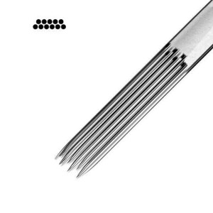11 - double plat - couleur (50 unités) - aiguilles (0,35).