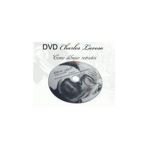 Retratos de Charles Laveso - desenhos realistas - DVD
