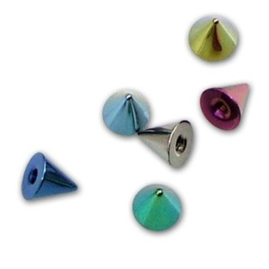Titane G23 - 1,6 mm de cônes.