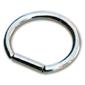 Hoop barbell 1.0 mm.
