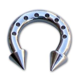 Kreisförmige Langhantel mit Zapfen 2,5 Löcher mm.