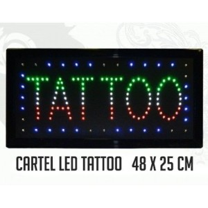 Affiche de tatouage LED