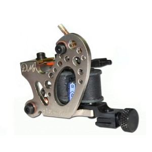 DM Binaural tattoo machine Hierro Plata - Lineas