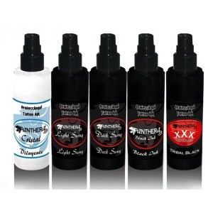 Lot de 5 Panthera encres de 50 ml