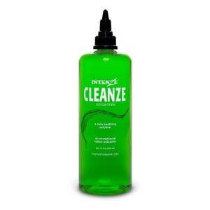 Intenze Cleanze cleaning solution