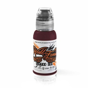 WORLD FAMOUS INK - BURGUNDY WINE 1 OZ