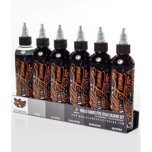 WORLD FAMOUS INK - FIVE - STAGE SHADING SET - 4 OZ