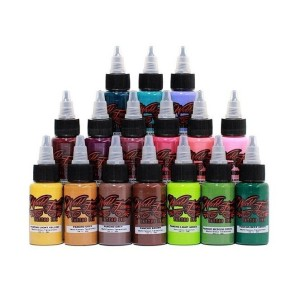 WORLD FAMOUS INK - SIXTEEN COLORSET AD PANCHO 1 OZ