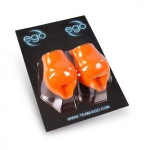 Fundas - grip EGO Silicona 2 unidades Naranja 19 mm