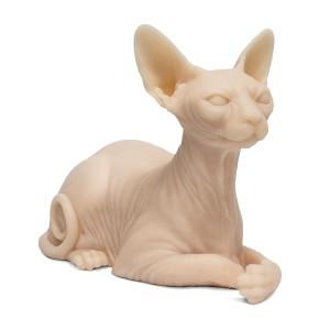 Silicone de tatuable gato egípcio