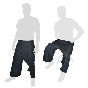 Delantal De Tela Sin peto y abertura en piernas - 1 unidad