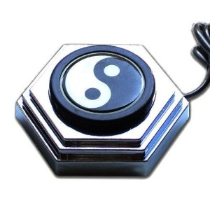 Switch foot - Pedal round Ying-Yang