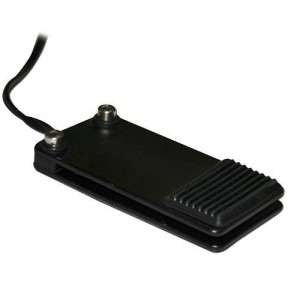 Pedal - black mini metal foot switch