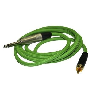 Clip cord RCA green, 1880, handmade and guaranteed