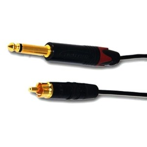 Clip cord RCA black, 1880, totally handmade and guaranteed