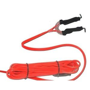 Clip cord gel silicona Rojo
