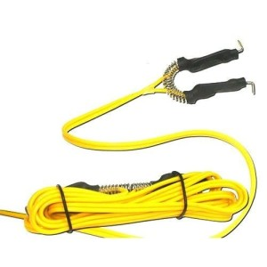 Clip cord yellow silicone gel