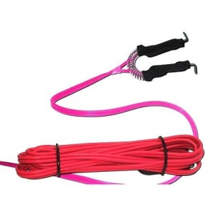 Clip cord pink silicone gel