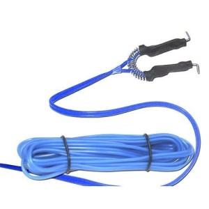 Clip cord gel silicona Azul