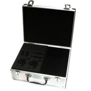 Koffer für Tattoo Silber