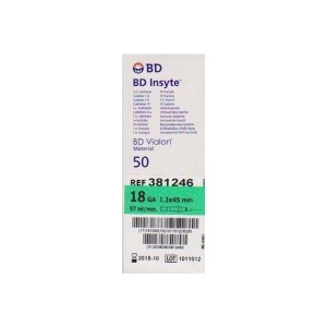 Becton Dickinson Catheter-Insyte 18G
