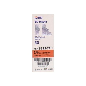 Catheter Becton Dickinson - Insyte 14G