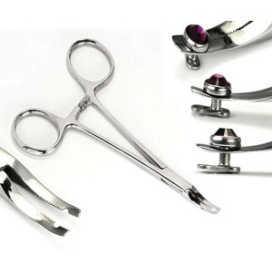 Microdermal special extra flat forceps
