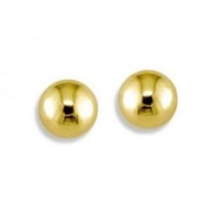 Plaqué d'or boule acier 1.6 mm
