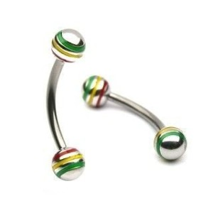 Banana ball rasta 1.2 mm.