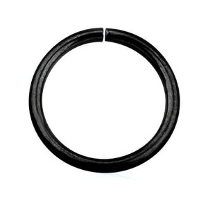 Closed hoop full Black line 1.6 mm