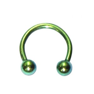 Circular barbell with balls 1.2 mm.