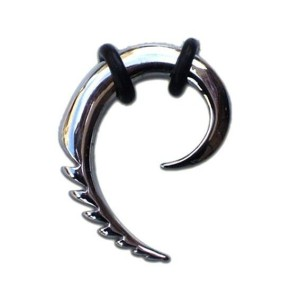 Dilator tribal Spiral cuved
