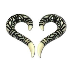 Espiral de osso tribal
