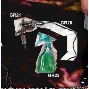 Taschen deckt Reinigungsspray