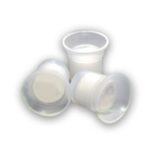 Capsulas pequeñas con esponja - Válidos para el anillo