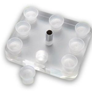 Support carré 8 capsules et machine