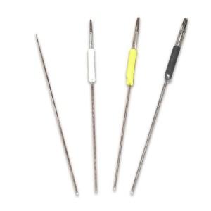 """10 """"Padrão"""" agulha de 2 pinos"""