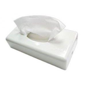 White tissue dispenser