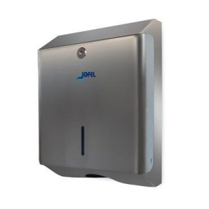 Zig-zag paper dispenser