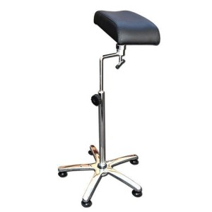 It supports arms multi-regulable Black - Chrome-plated foot