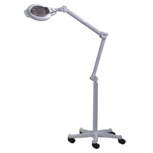 Avec permanent lampe loupe