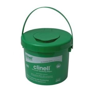 Clinell Universal - toalhetes de desinfecção de superfícies. Cubo de 225 a