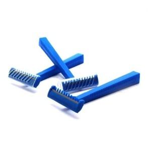 Maquinillas de afeitar una hoja con peine - 100 unidades