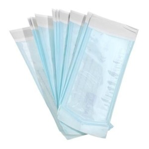 7.5 x 20 cm self-adhesive bag.