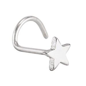 Nasenloch mit Stern