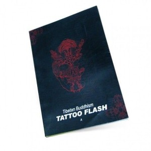 BUDDISMO TIBETANO TATTOO FLASH LIBRO PER