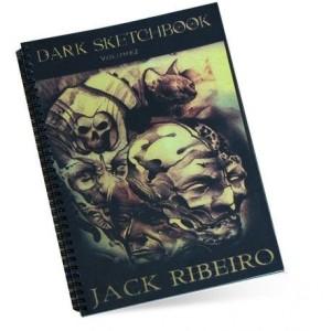 LIVRE NOIR SKETCHBOOK VOLUM 2 JACK RIBEIRO