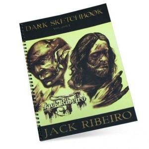 LIVRE NOIR SKETCHBOOK VOLUM 3 JACK RIBEIRO